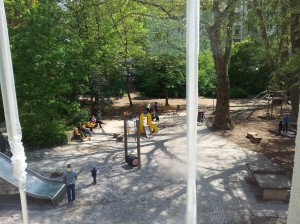 ...the ever-busy playground...